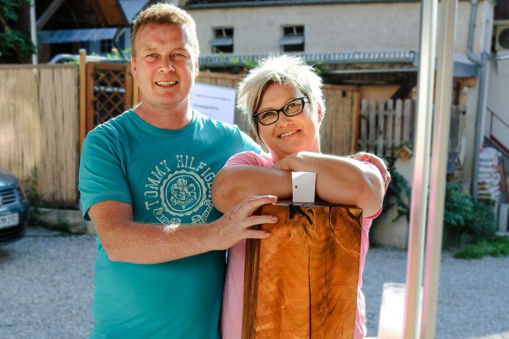 Schreiner Thomas Ludin und Tanja Wehrle